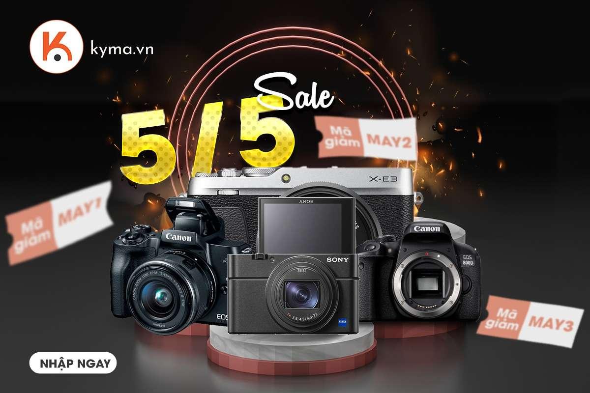 Khuyến mãi tháng 5 Máy ảnh Canon EOS 80D Body (nhập khẩu) tại Kyma