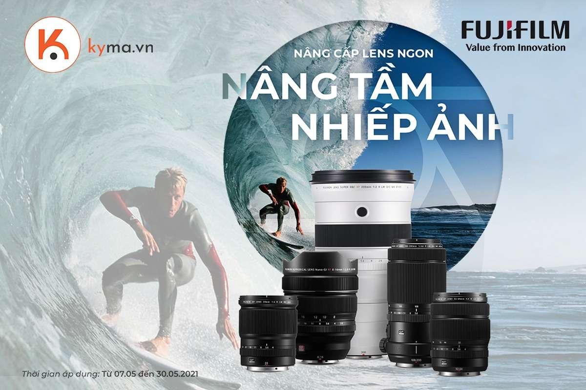 Thang 5 khuyen mai khung Ong kinh Fujifilm khong the bo lo